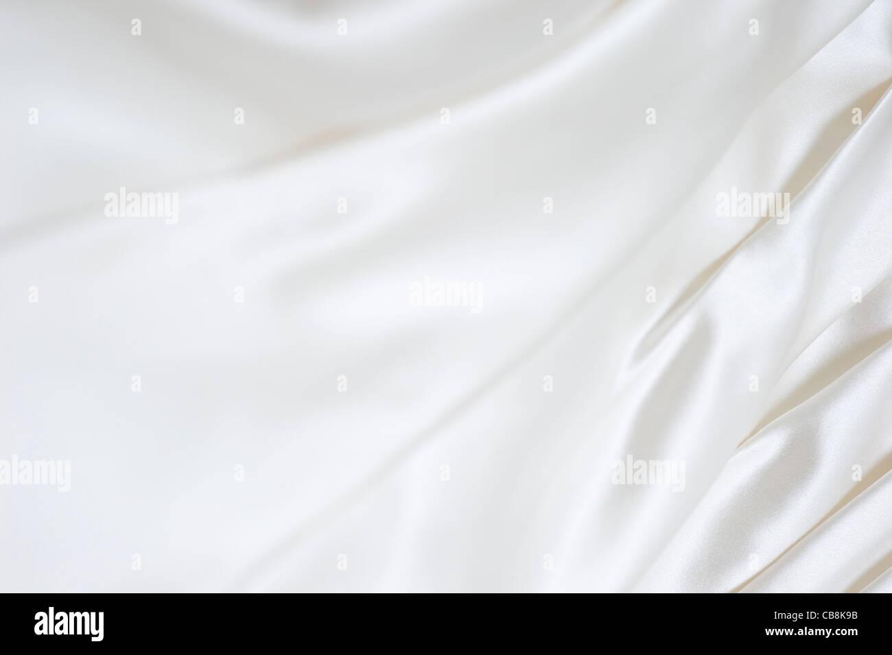 Wedding dress details - Stock Image