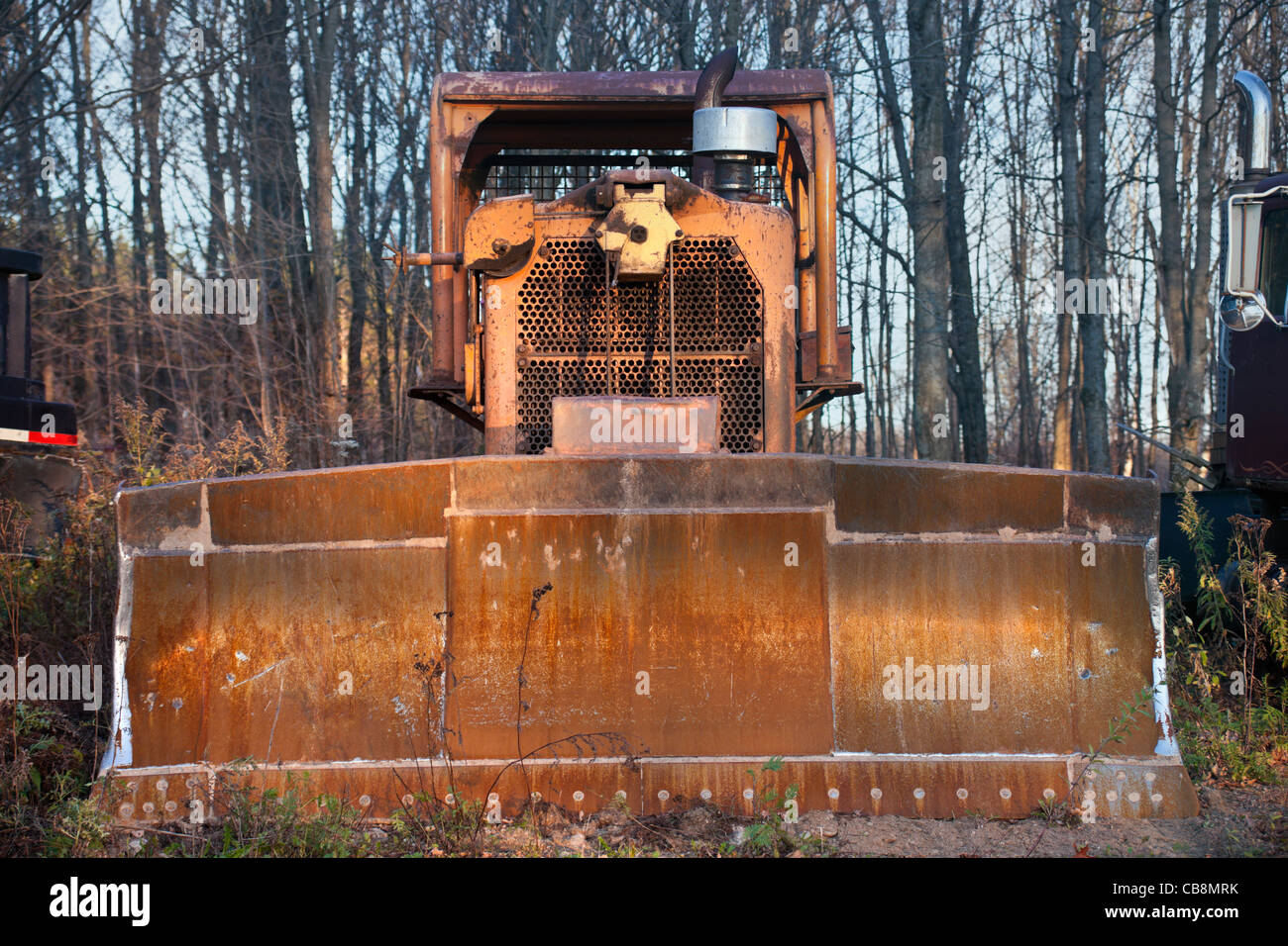 Old bulldozer - Stock Image