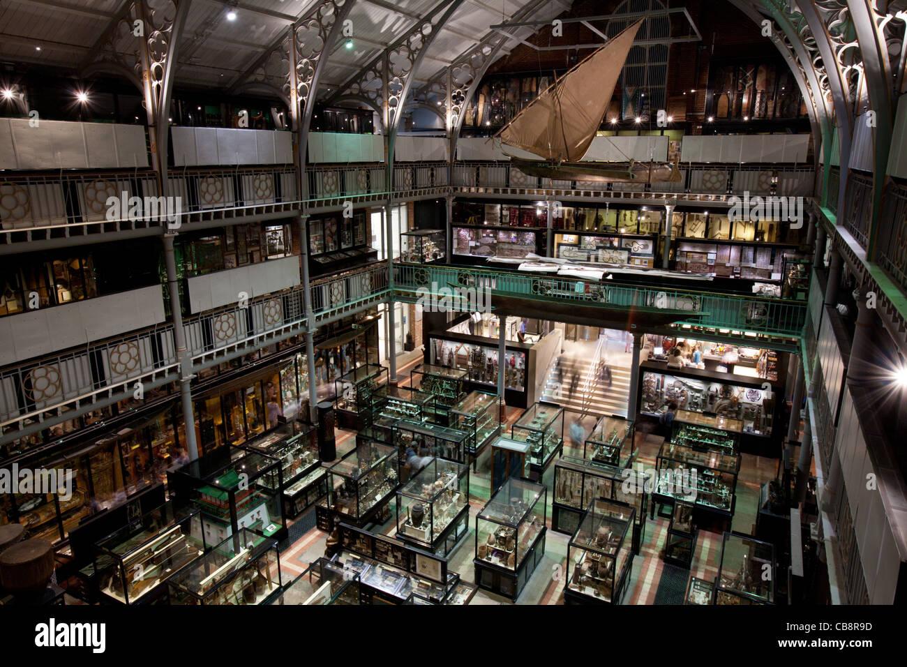 Pitt Rivers Museum, Oxford, UK - Stock Image