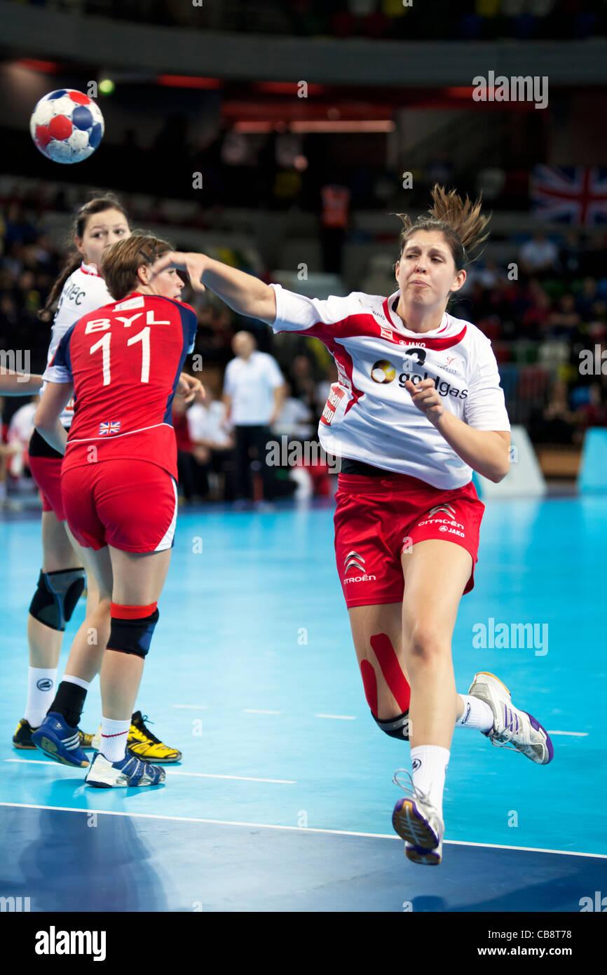 shooting handball