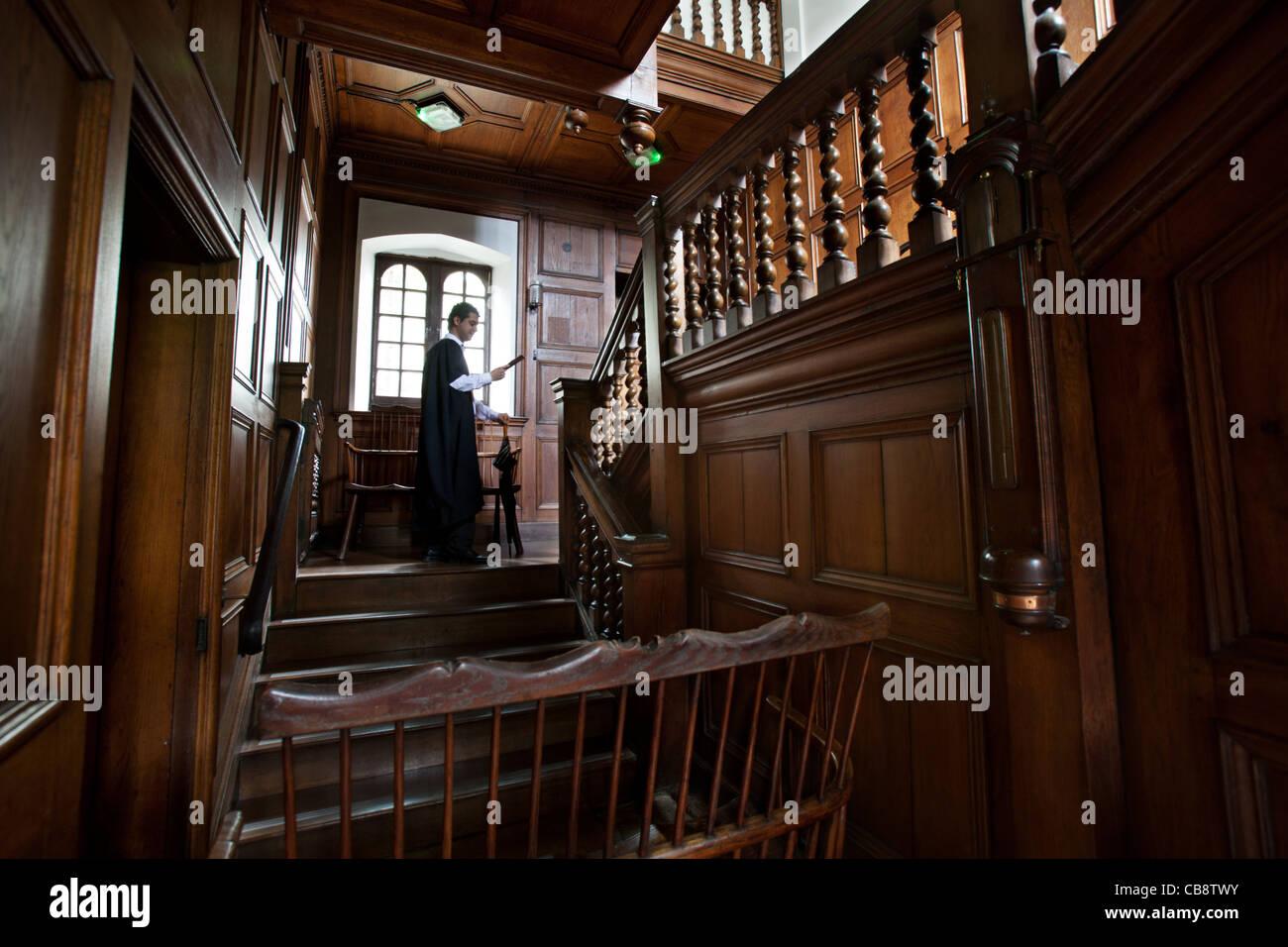Jesus College education architecture Oxford - Stock Image