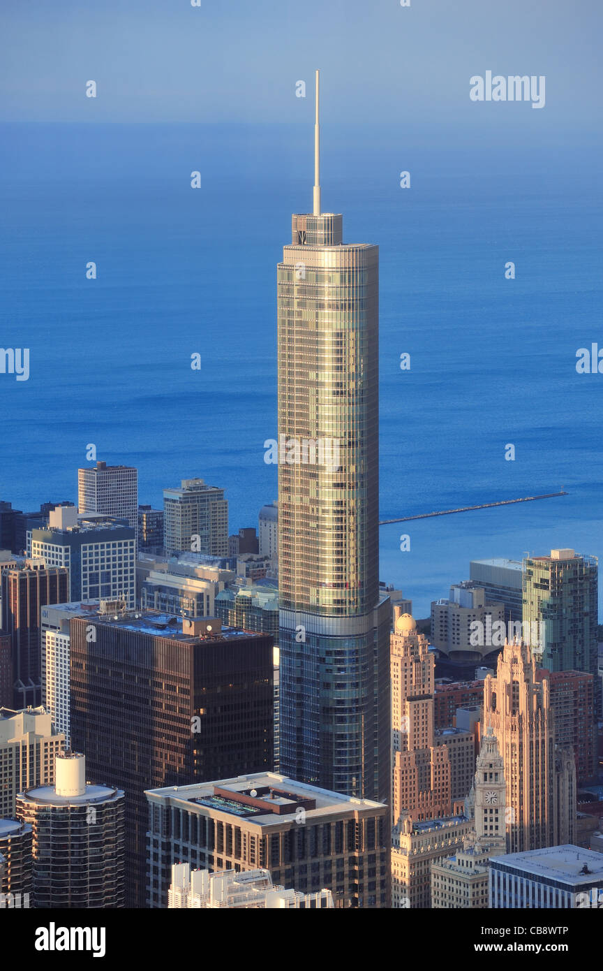Trump Tower Chicago - Stock Image