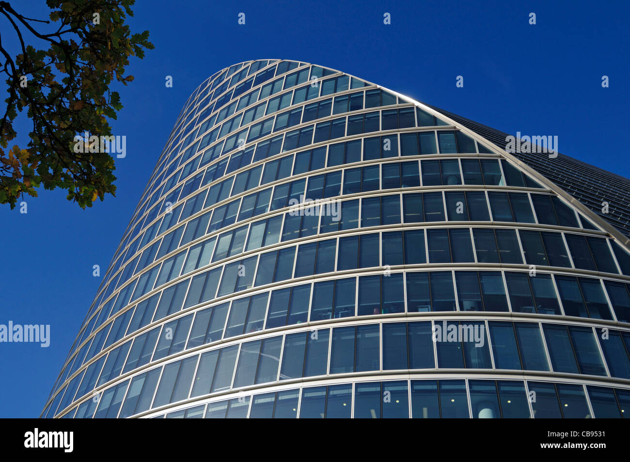Moor House, 120 London Wall, London EC2, Uited Kingdom - Stock Image