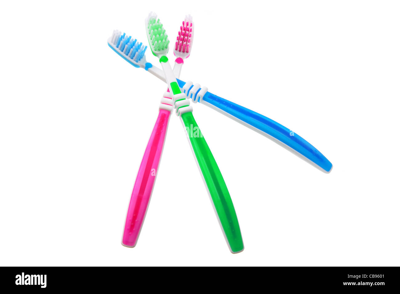 Toothbrushes - Stock Image