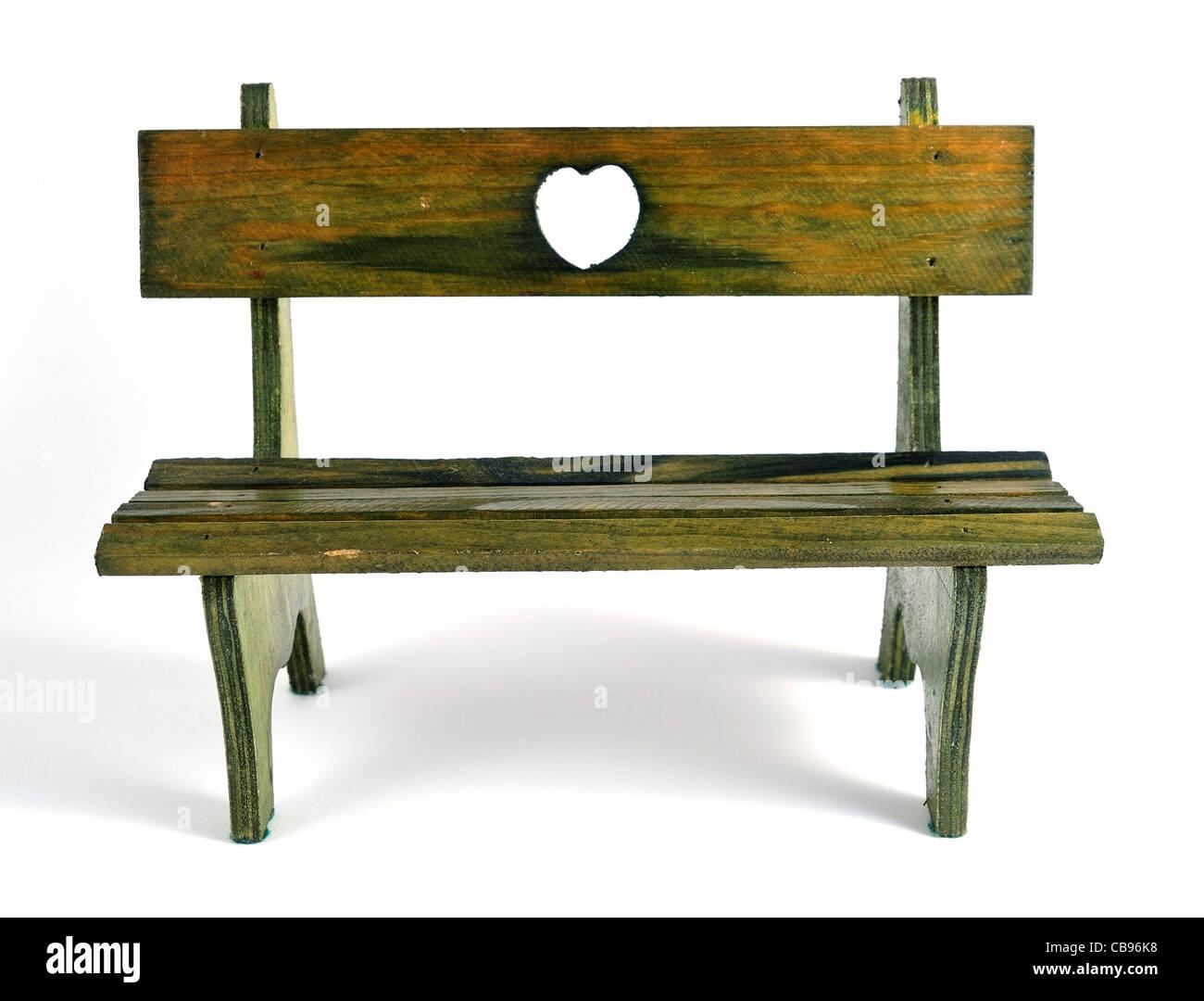 Empty bench. - Stock Image