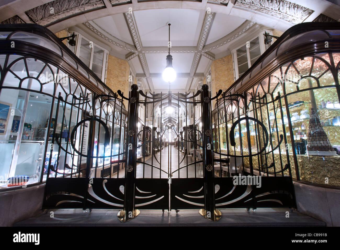 The Burlington Arcade, London, UK Stock Photo