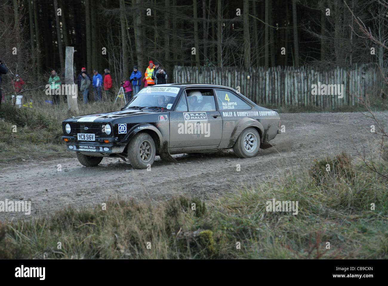 rally motor sport cars - Stock Image