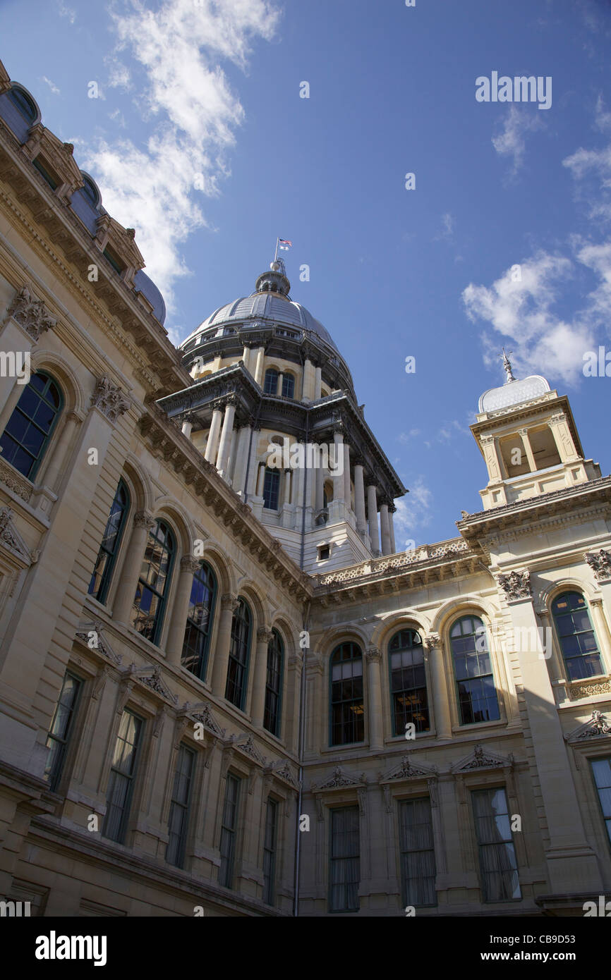 Illinois State Capitol Building - Stock Image
