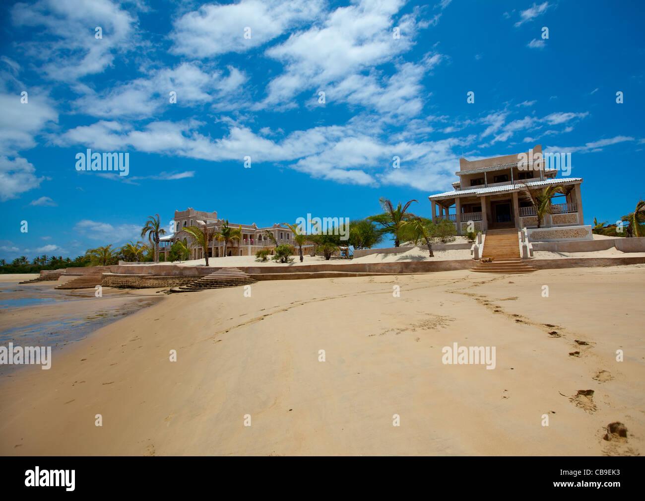 delajoux house near beach luxury travel destination place - Stock Image