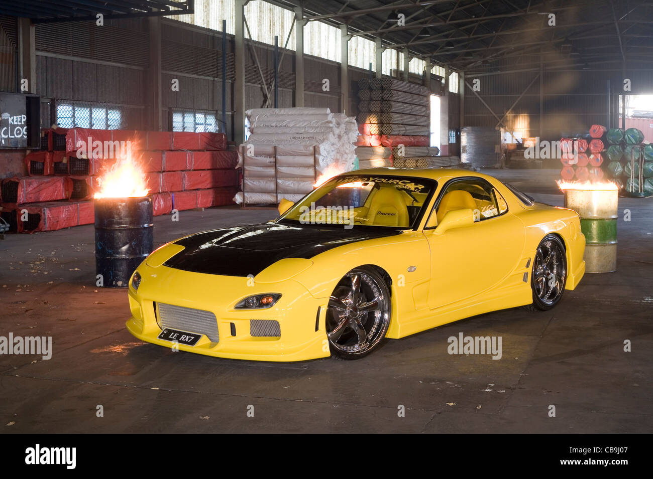 Mazda Rx7 Sport >> Heavily Modified Rotary Wankel Engine Mazda Rx7 Sports Car Built By