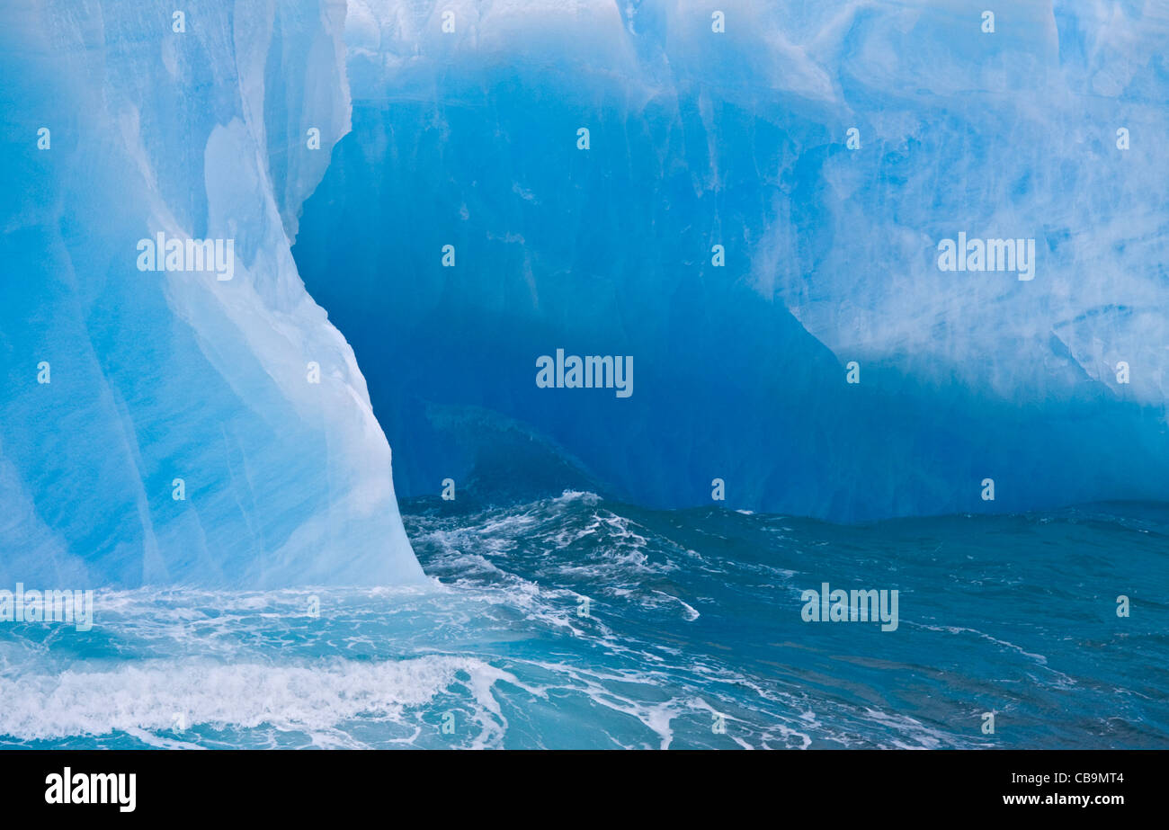 Iceberg, Coronation Island, South Orkneys - Stock Image