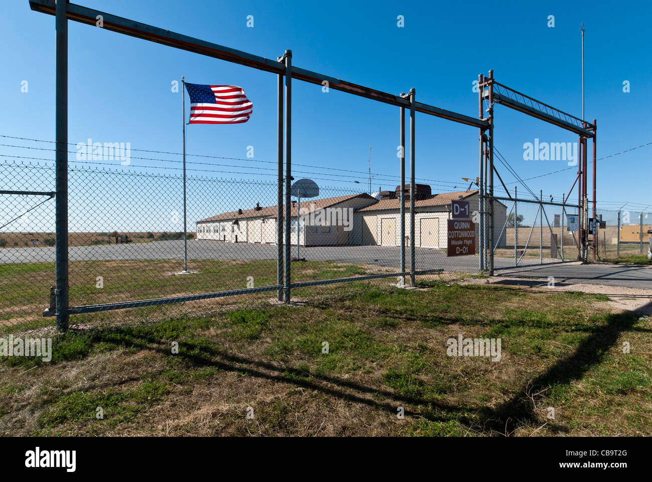 Minuteman Missile National Historical Site, South Dakota. - Stock Image