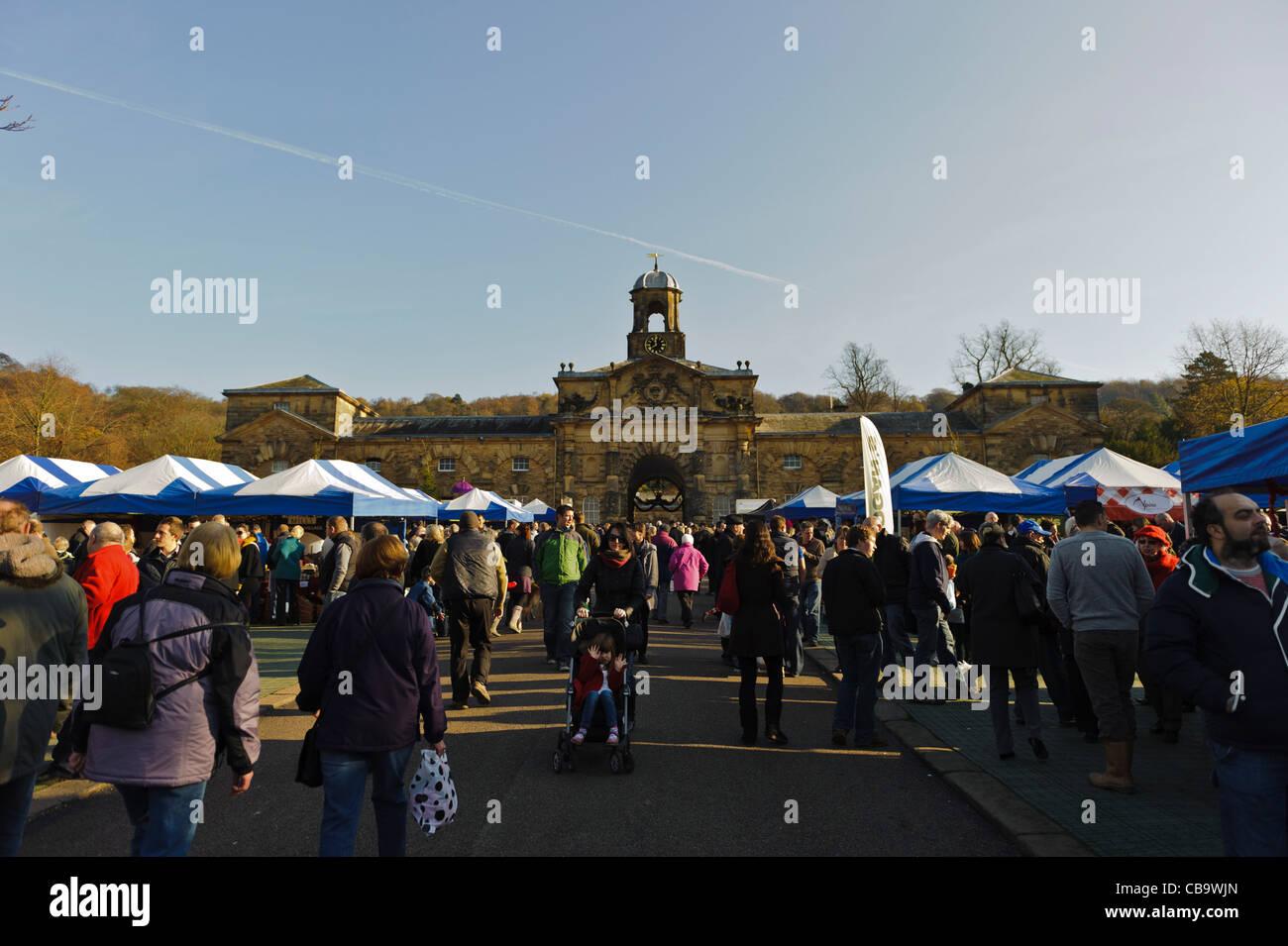 Chatsworth Christmas Market , Stock Image