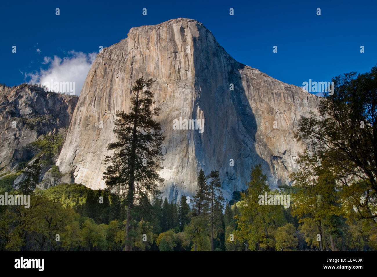 El Capitan - Yosemite National Park, California. Stock Photo