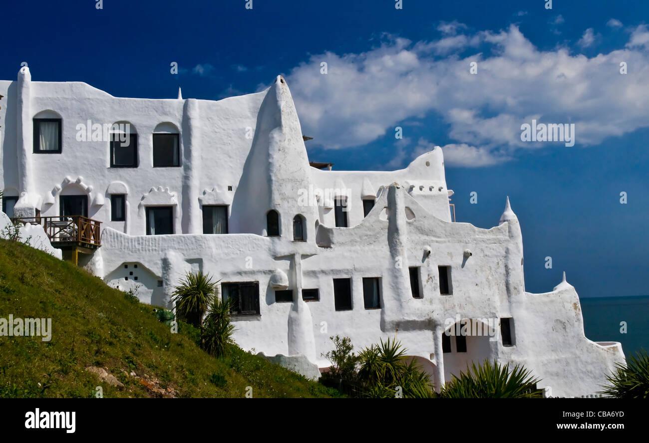 Hotel Casapueblo in Punta del este Uruguay - Stock Image