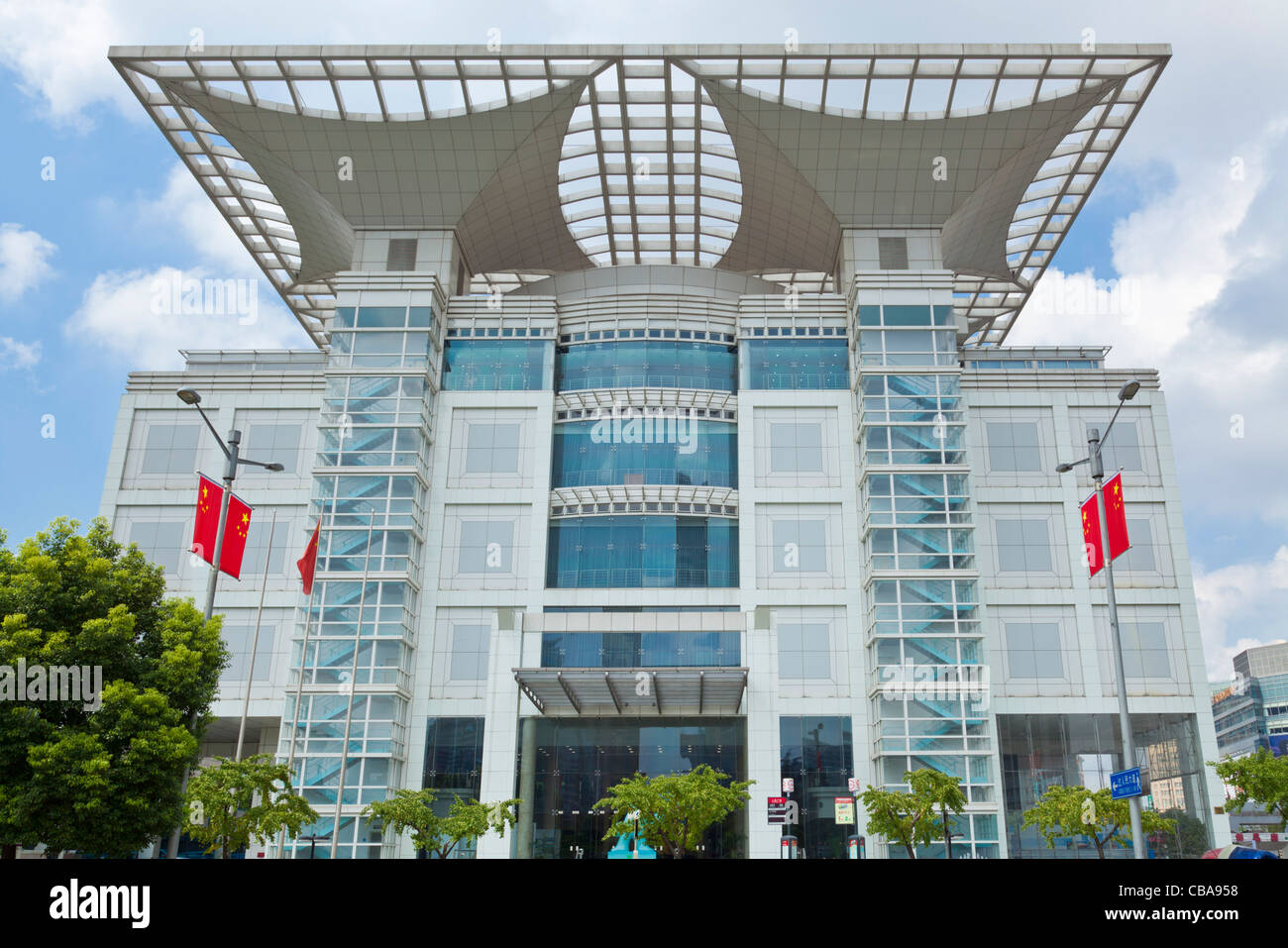 The Urban Planning Exhibition Center centre Shanghai  PRC, People's Republic of China, Asia - Stock Image