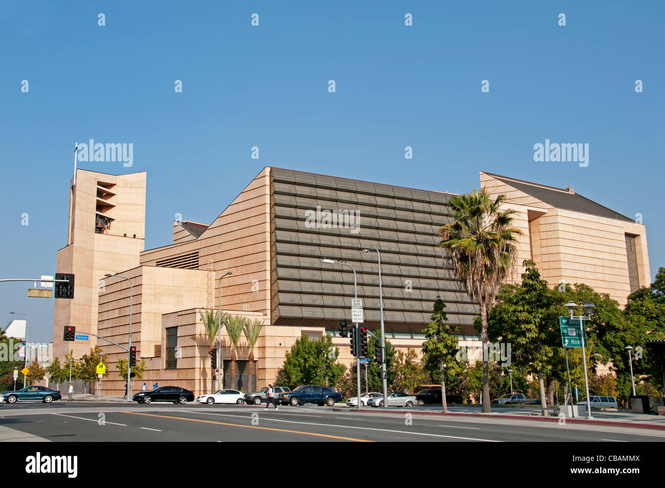 Cathedral of Our Lady of the Angles Los Angeles United States - Stock Image
