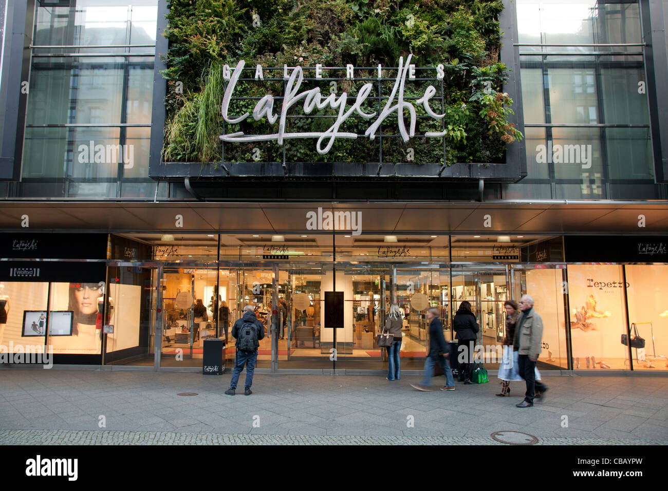 Galeries Lafayette Berlin High Resolution Stock Photography and ...