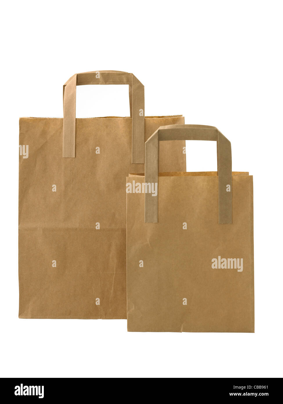 carrier bag - Stock Image