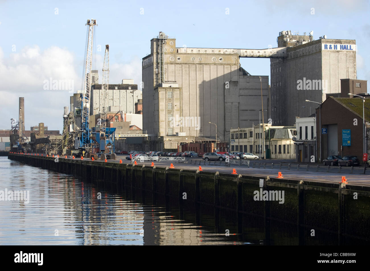 Kennedy Quay, Cork City - Stock Image