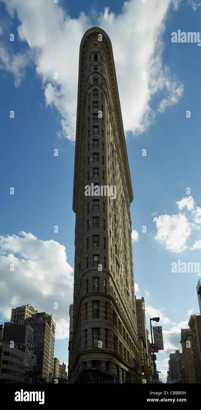 FLATIRON BUILDING DETAIL - Stock Image