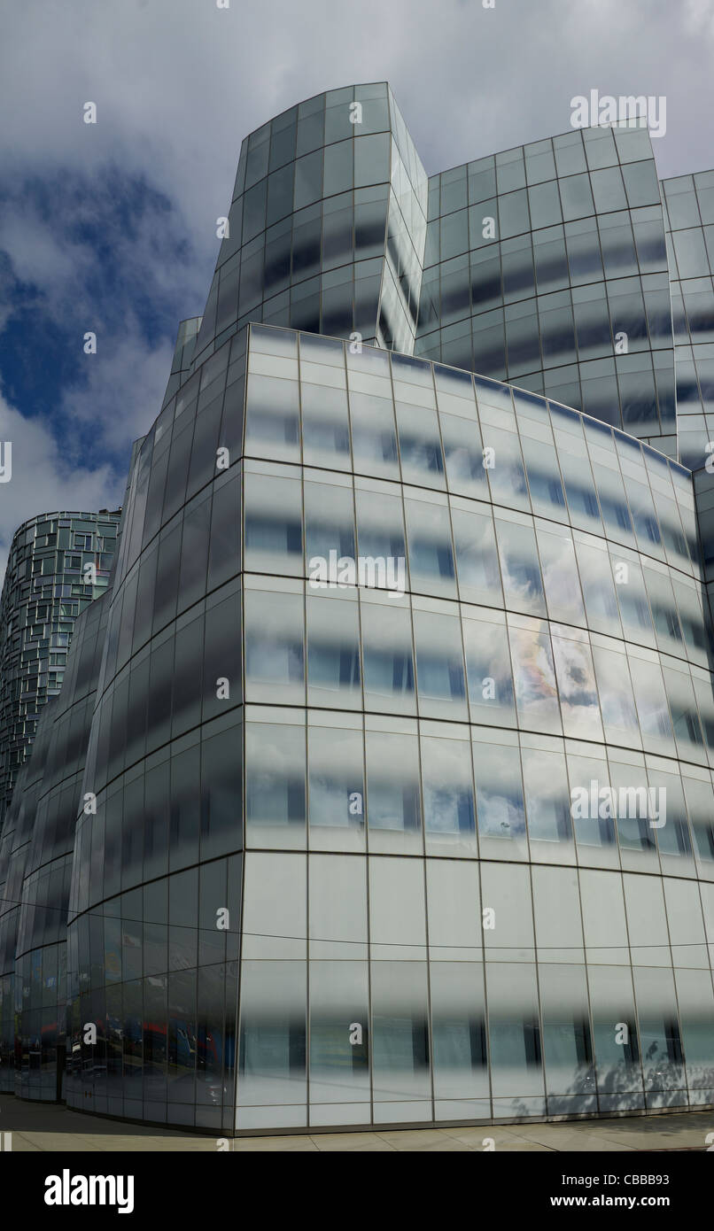 IAC Building New York, by Frank Gehry, 2008 - Stock Image