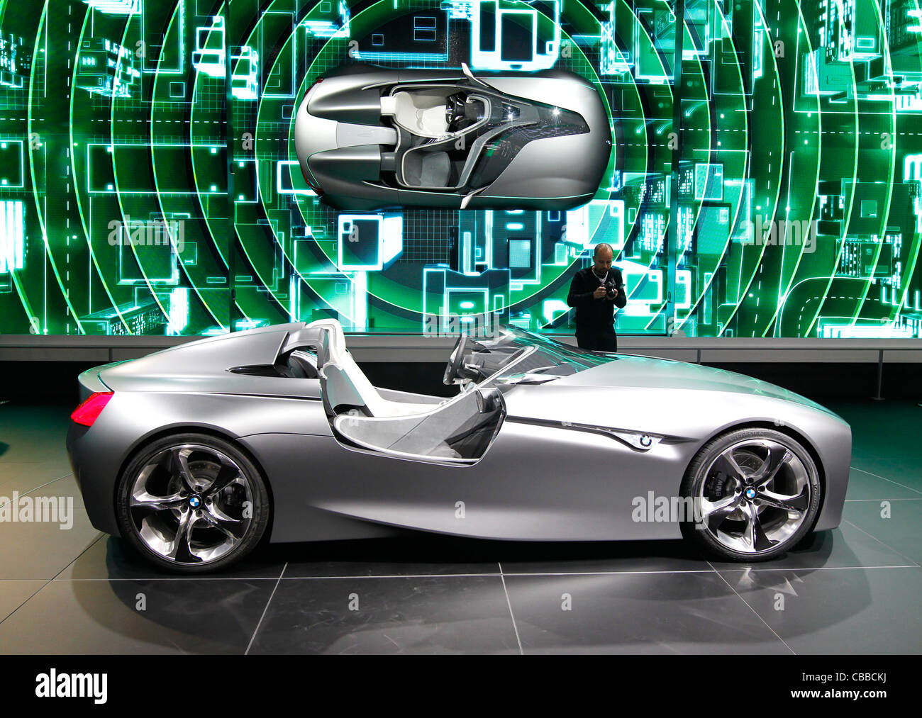 BMW Vision Connected Drive Concept, 81. International Motor Show in ...