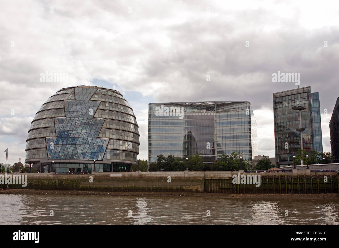 London Assembly buildings - Stock Image