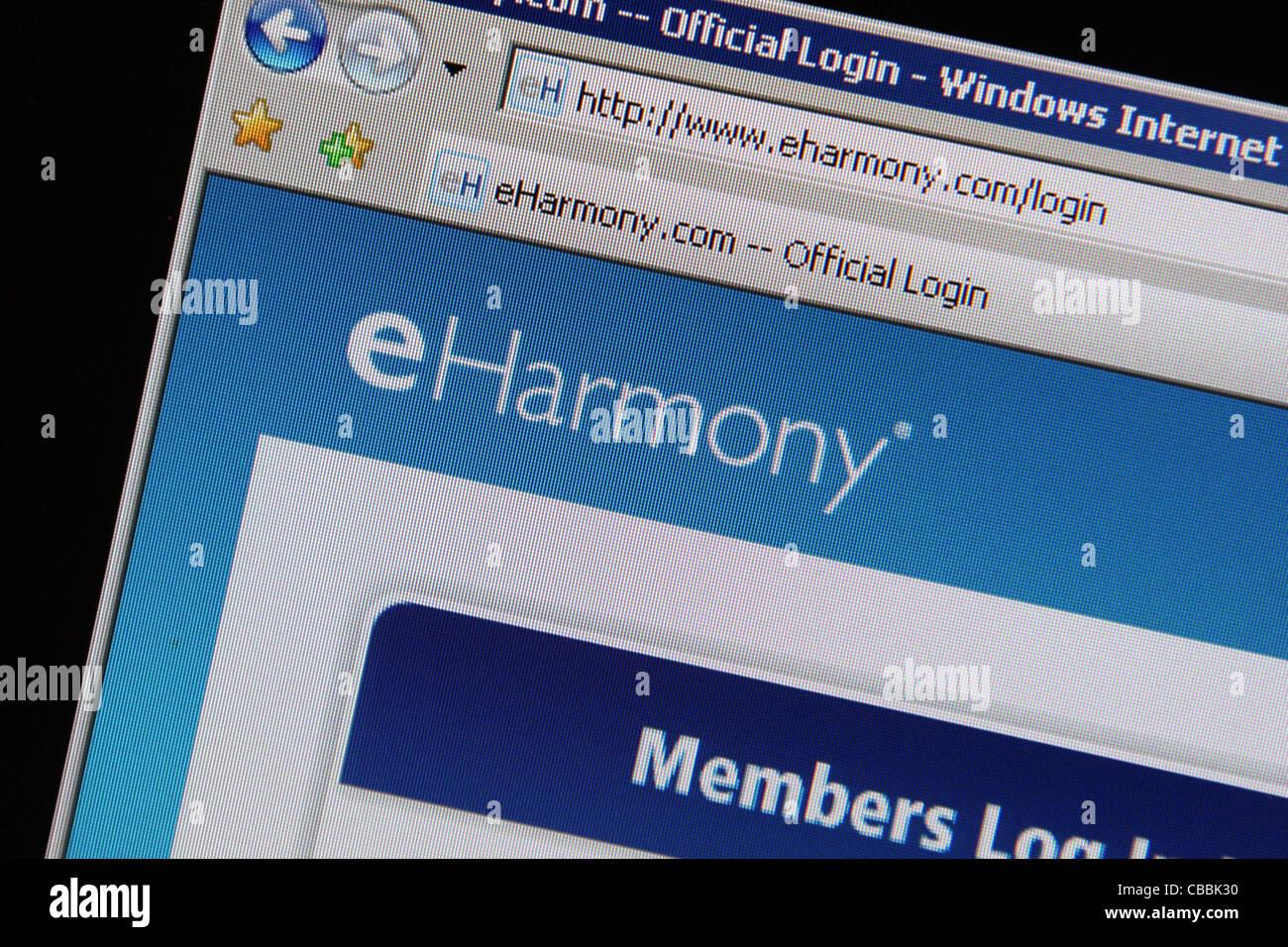 Eharmony official login