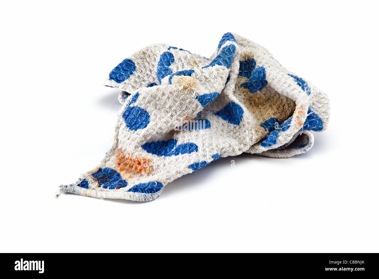 Dirty Dishcloth - Stock Image