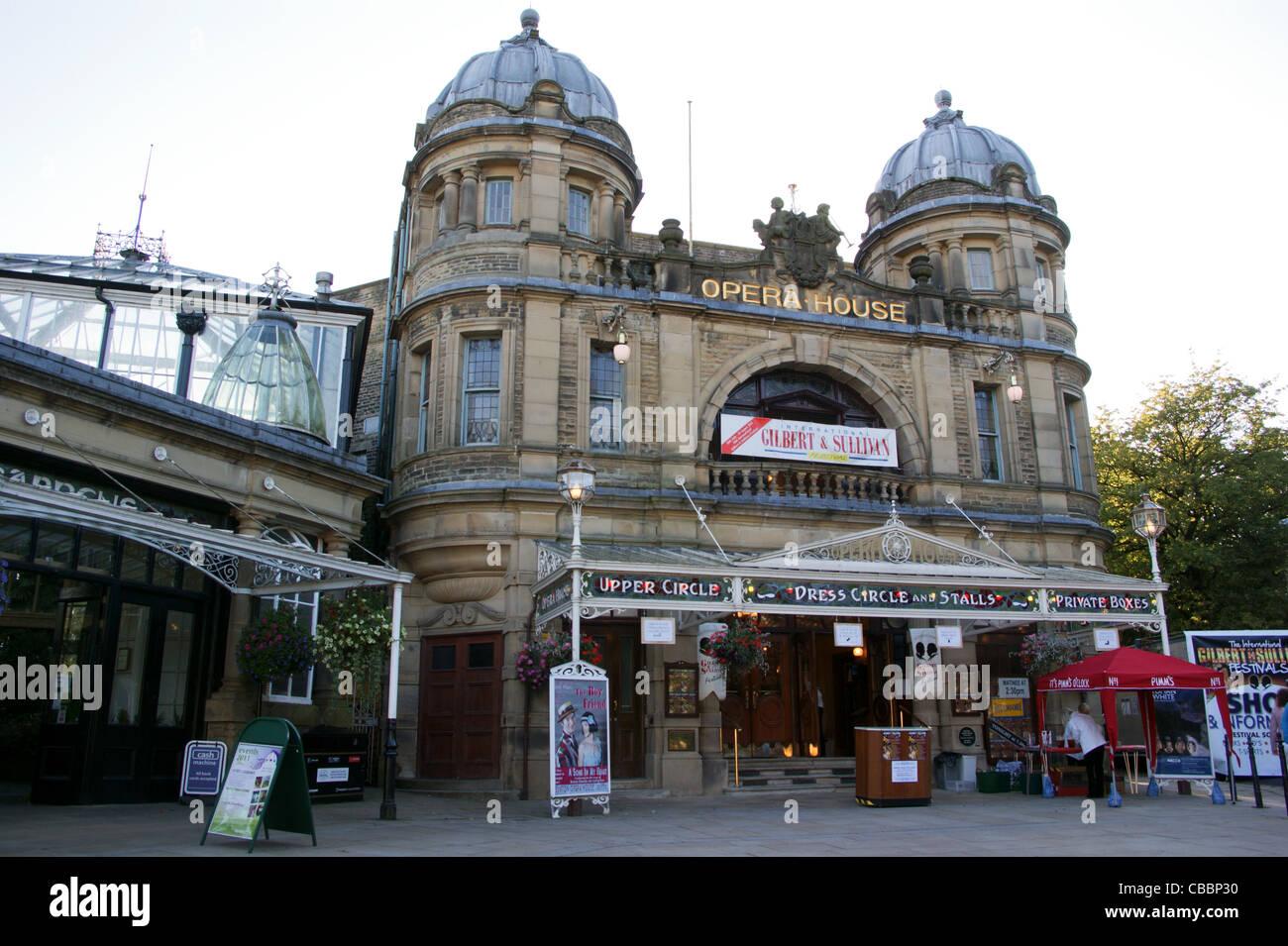 Buxton Opera House designed by Frank Matcham, Buxton, Derbyshire, England - Stock Image