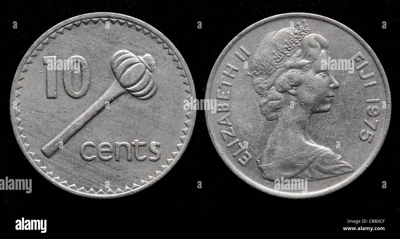 10 Cents Coin Fiji 1975
