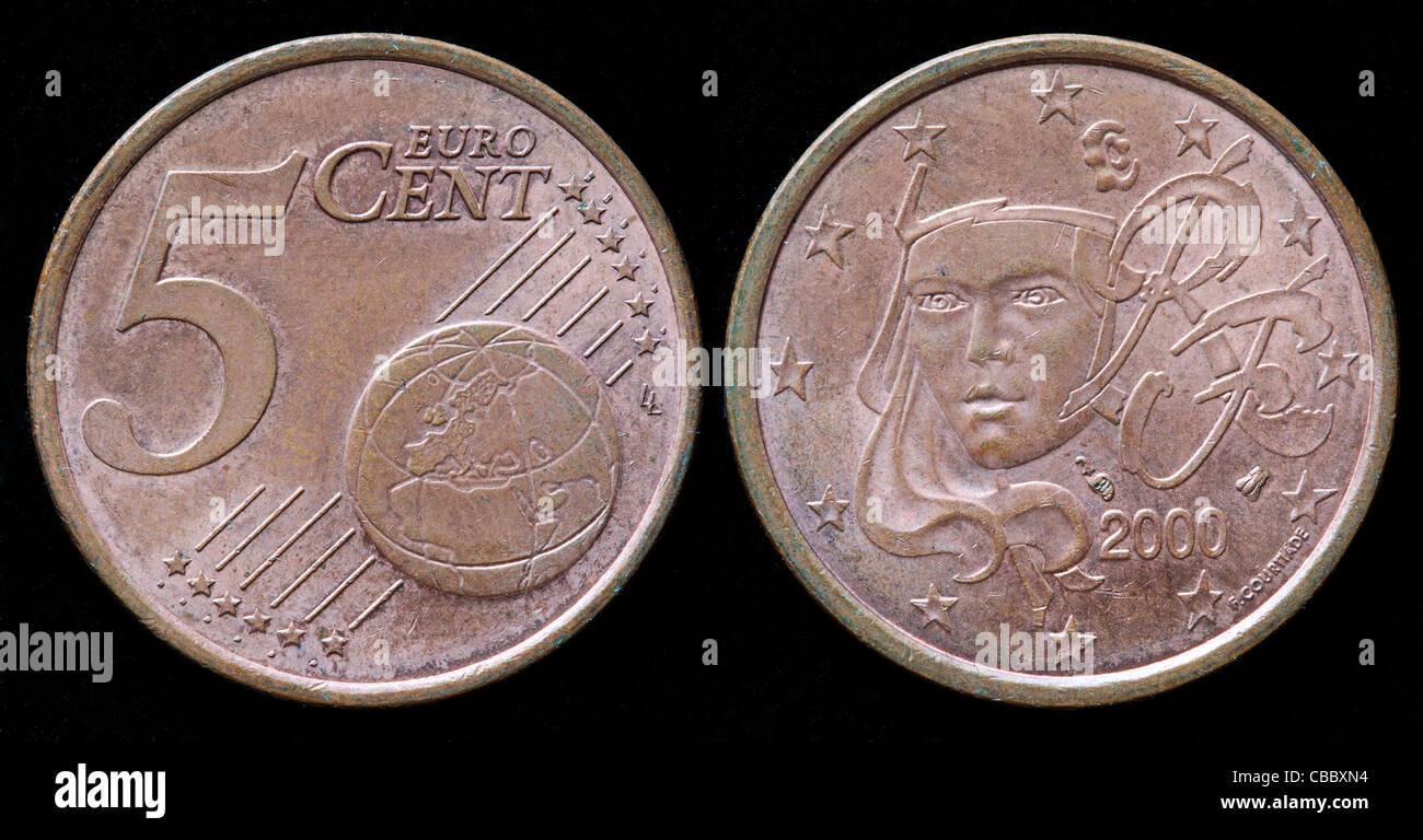 Euro Coin France Stock Photos Euro Coin France Stock Images Alamy