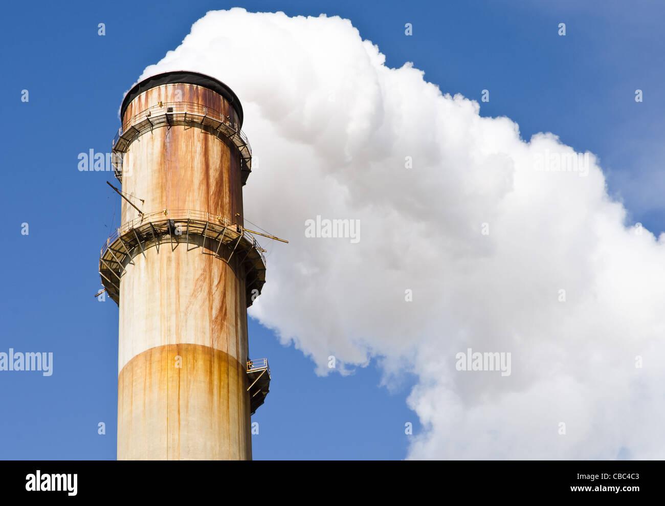 Big Bend Power Station,  Tampa Electric Company, TECO - Stock Image