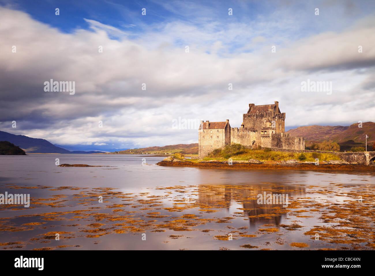 Eilean Donan Castle Highland Scotland - Stock Image