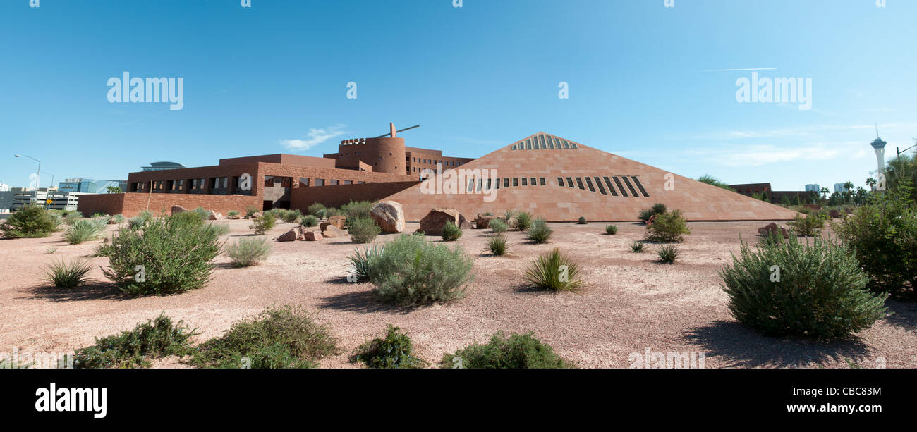 Las Vegas Clark County Government Center  United States Nevada - Stock Image