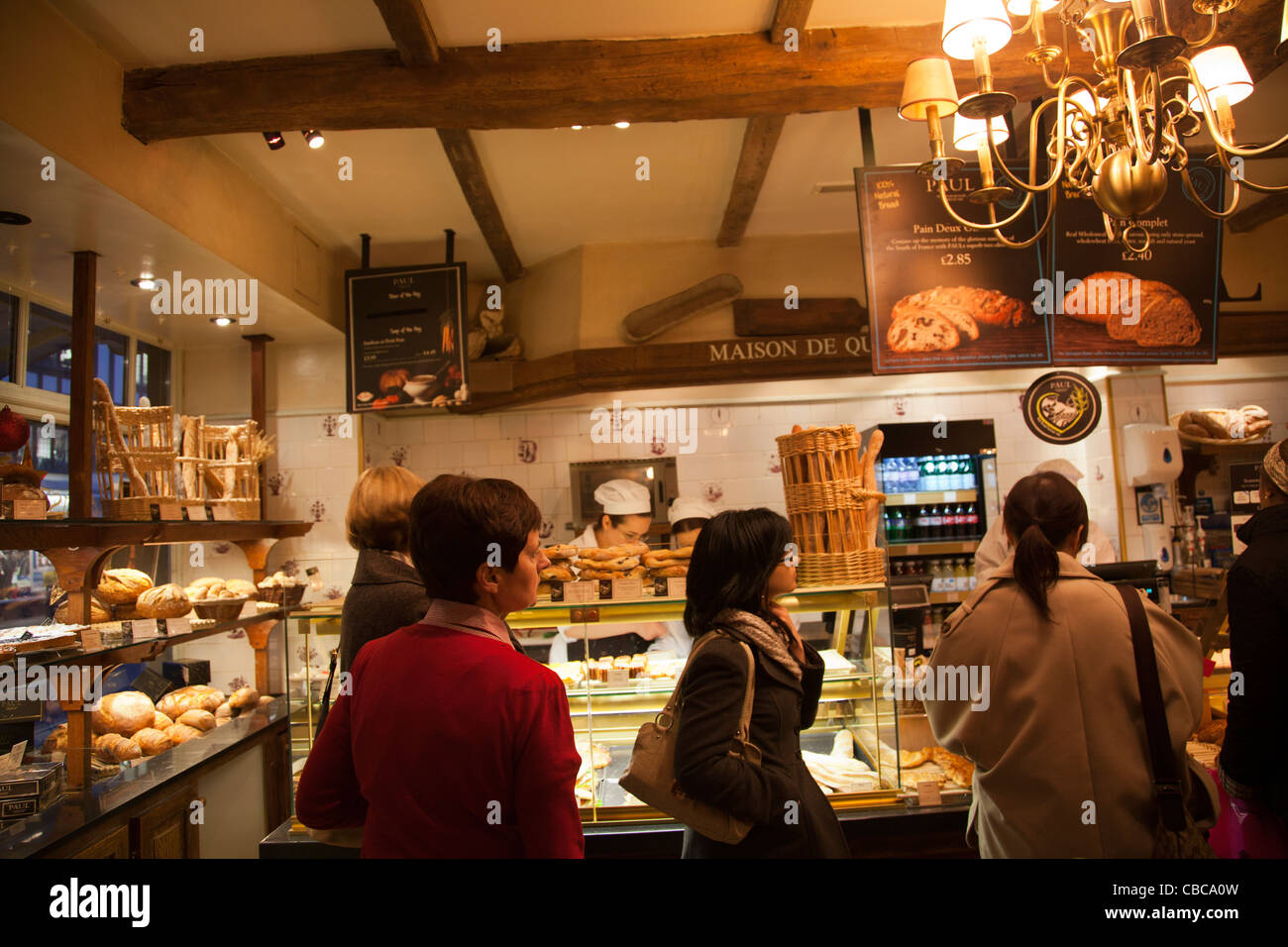 Paul Patisserie in Richmond - Stock Image