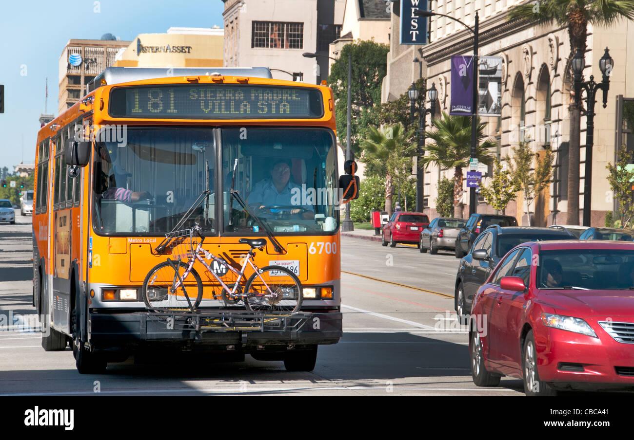Bike Transport Bus Pasadena California United States Los