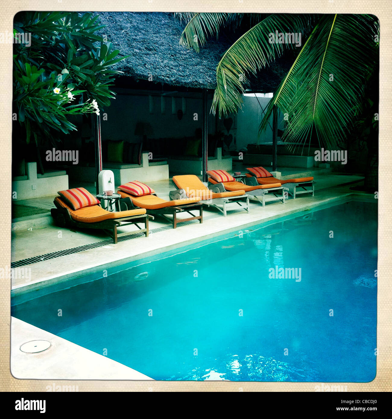 Picture Swimming Pool Color Iphone Apple Stock Photos