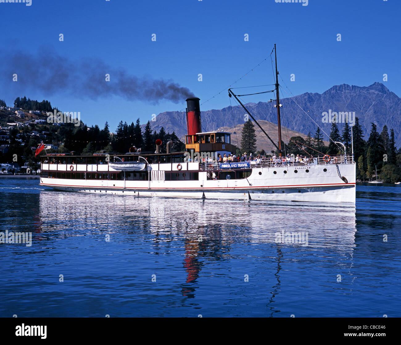 Tourist Pleasure Boat (TTS Earnslaw) On Lake Wakatipu