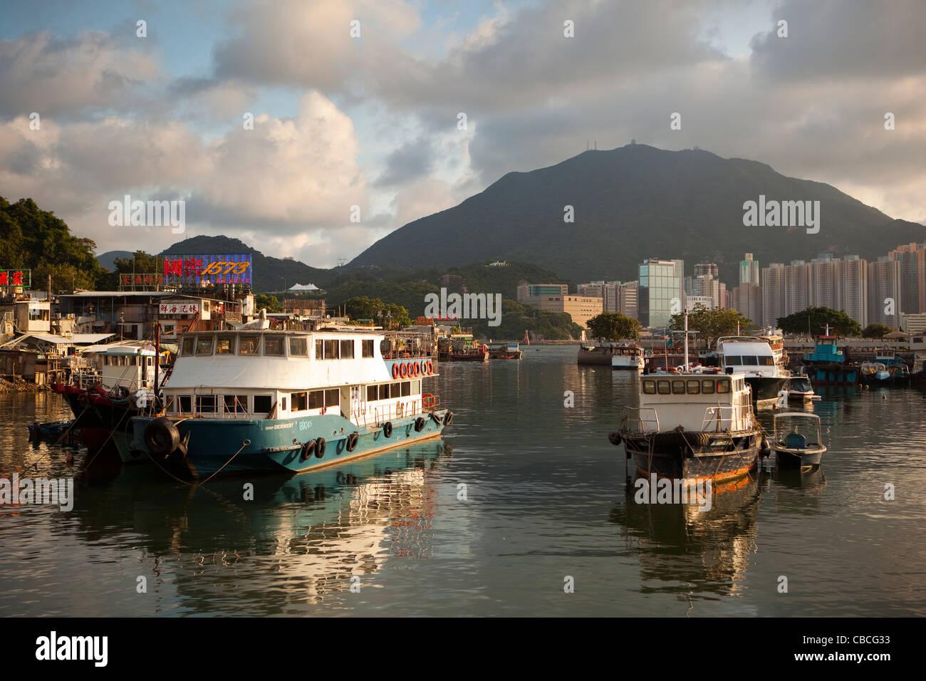 Lei Yue Mun, Seafood Village, Kowloon, Hong Kong - Stock Image