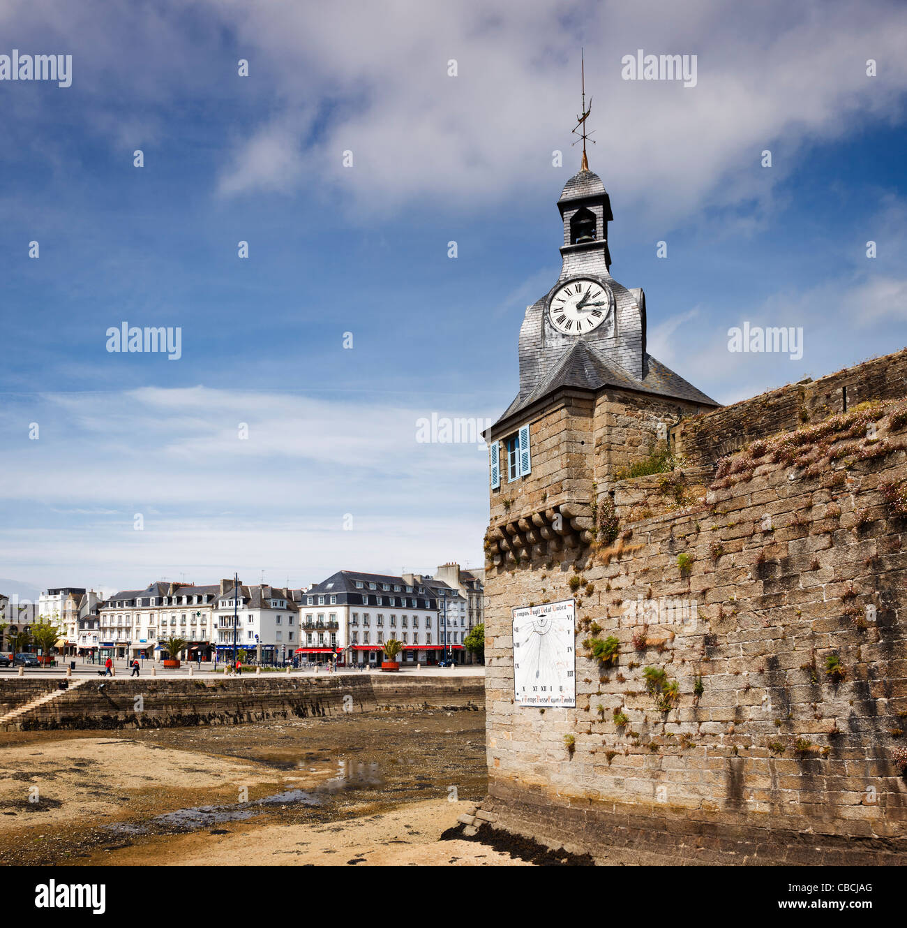 Concarneau, Brittany, France - Stock Image