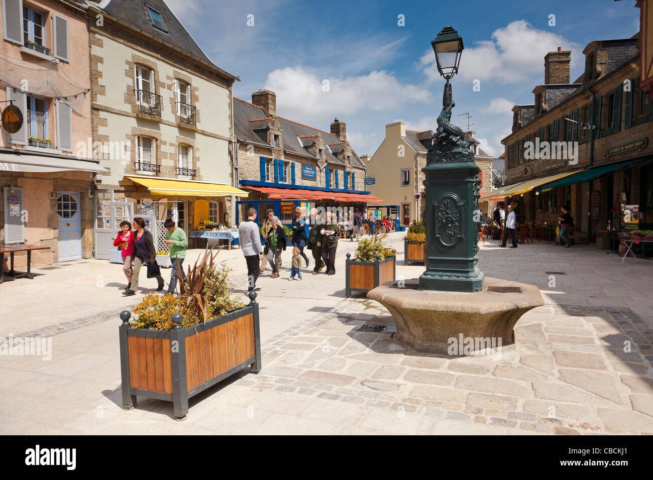 Concarneau, Finistere, Brittany, France Stock Photo