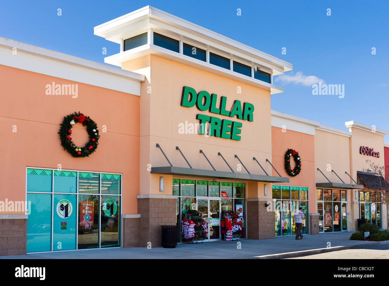 Dollar Tree discount store at Posner Park retail development, Davenport, Central Florida, USA - Stock Image