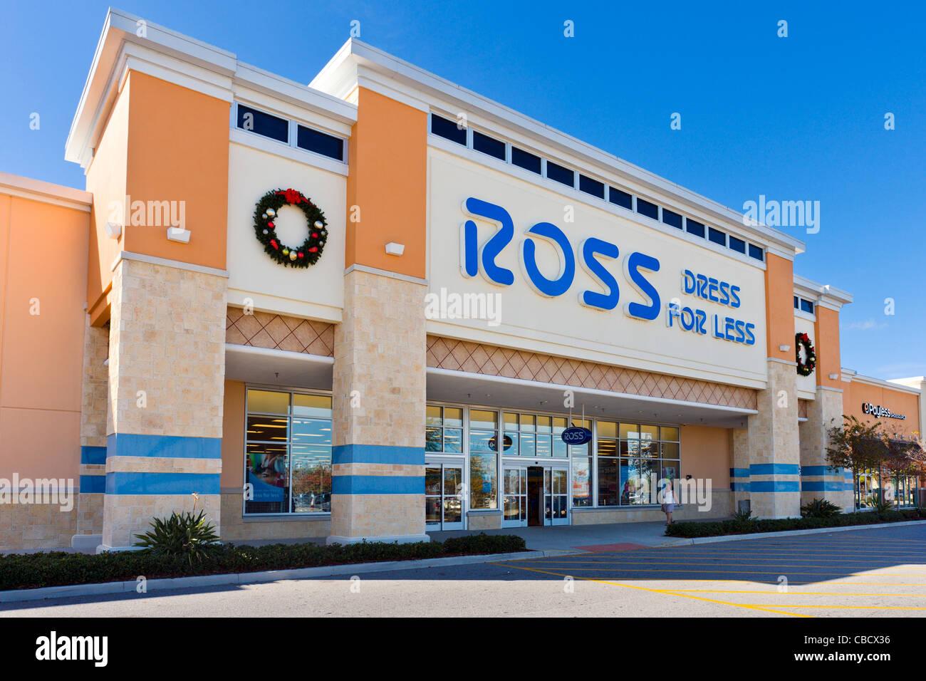 352a9faf63a1 Ross Dress for Less store at Posner Park retail development, Davenport,  Central Florida, USA