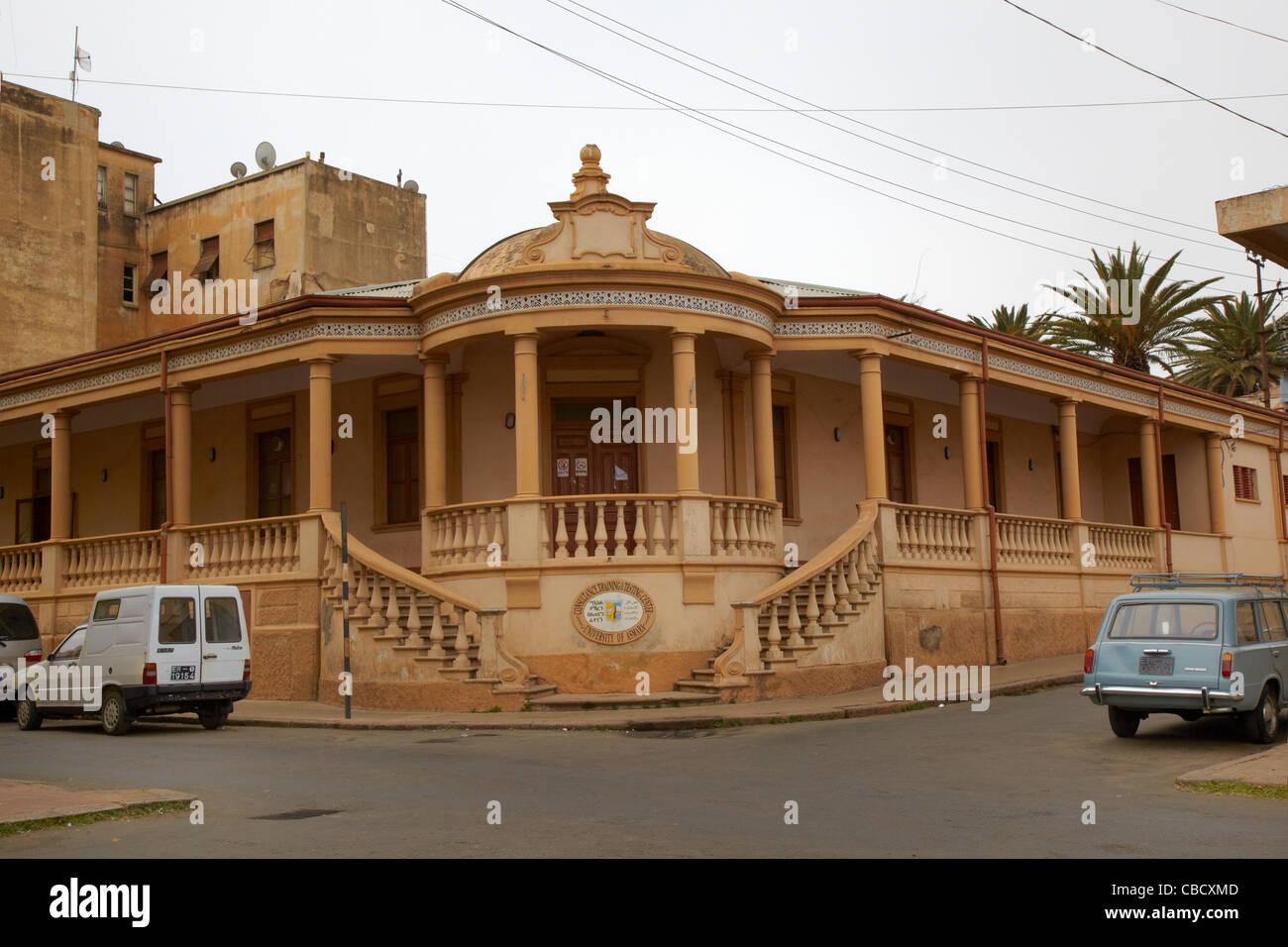 University of Asmara Training Center, Asmara, Eritrea