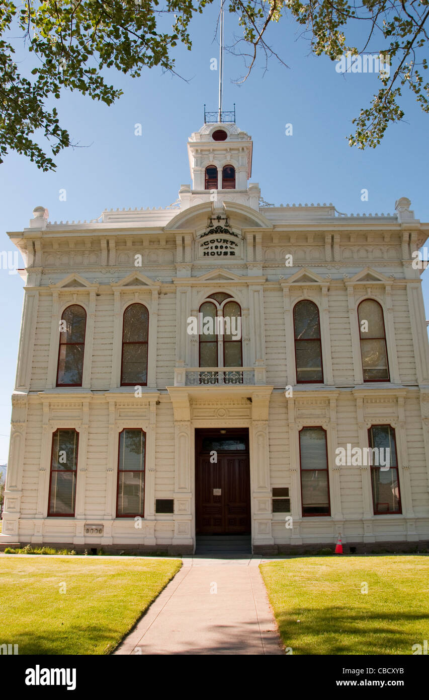 Mono County Courthouse, Bridgeport; California, USA. Photo copyright Lee Foster. Photo # california121107 - Stock Image