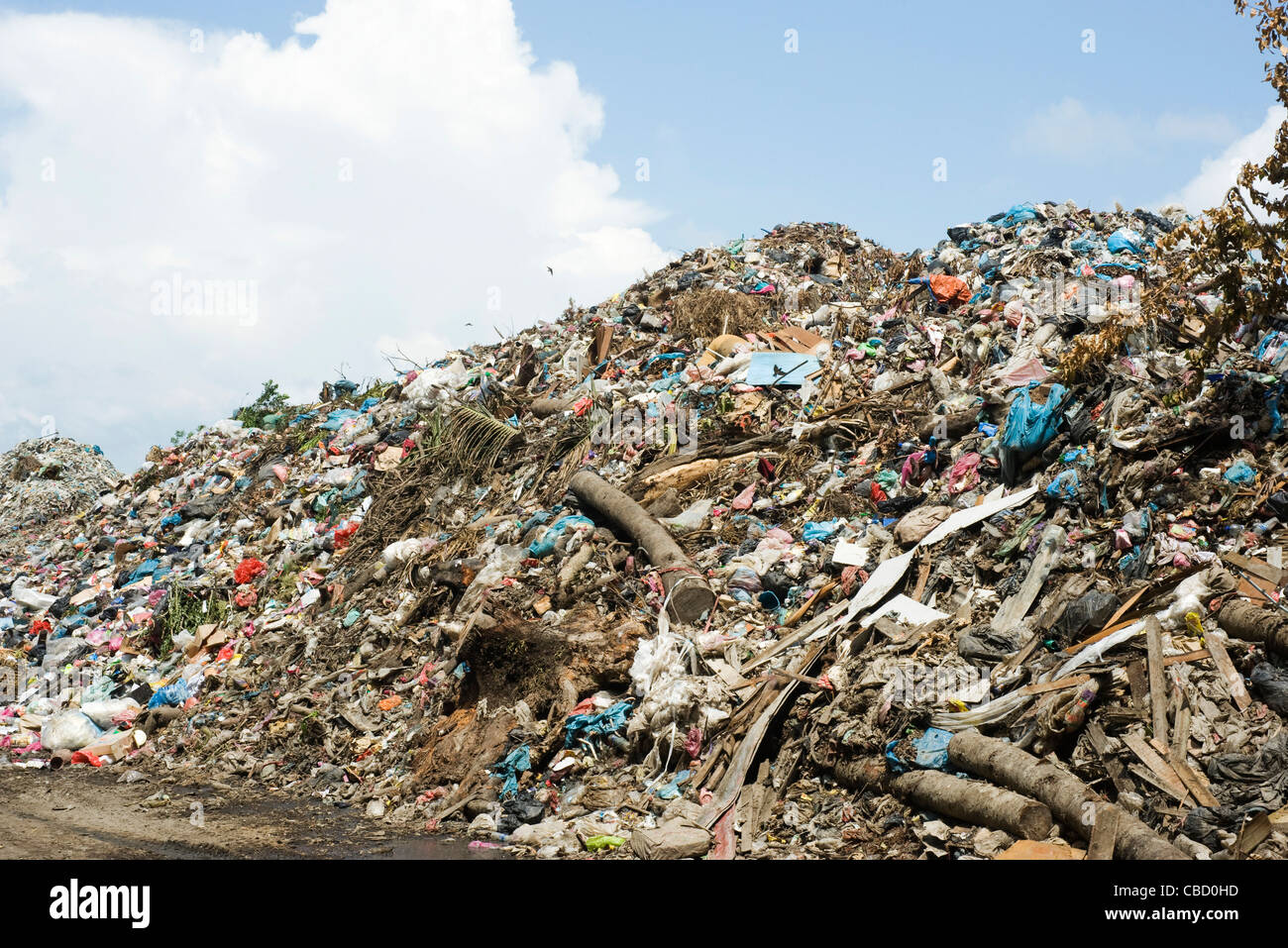 Garbage dump - Stock Image