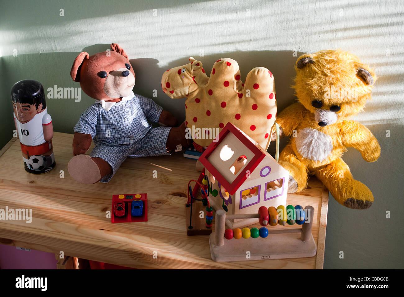 Kid stuff in children's room. (CTK Photobank/Martin Sterba) Stock Photo
