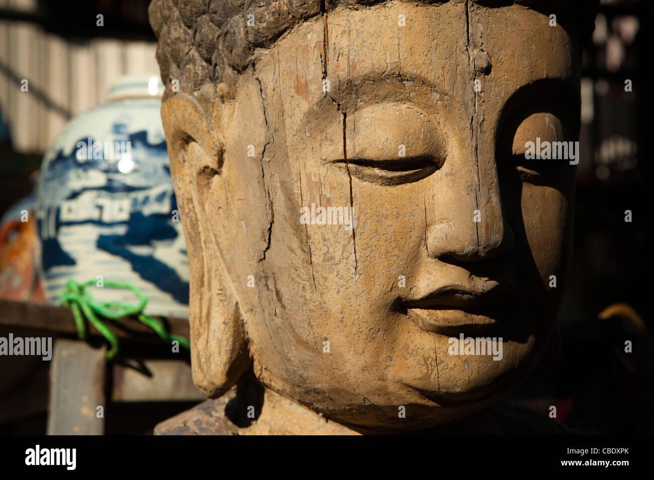 Po Ling Monastery, Po Ling, Ngong Ping, Lantau, Hong Kong, China - Stock Image